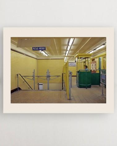 Photo poinçonneuse RATP - Bastille