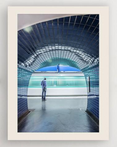 Photo couloir de métro RATP - Daumesnil