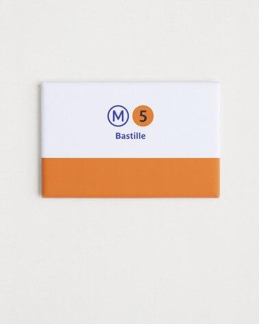 Magnet ligne 5 RATP origine france