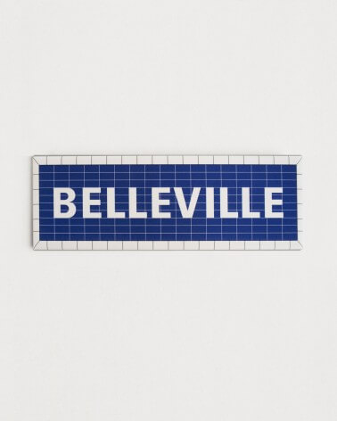 Magnet Belleville RATP origine France