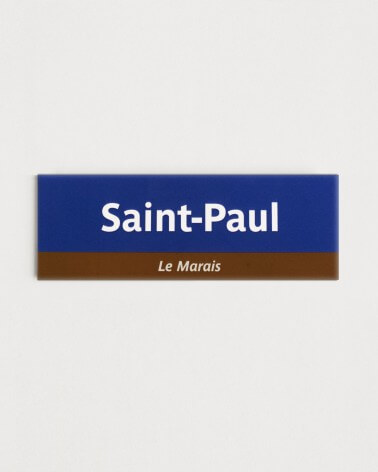 Magnet Saint-Paul RATP origine France