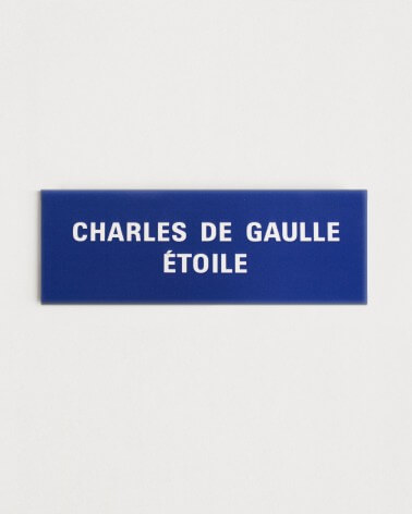 Magnet Charles de Gaulle-Etoile RATP origine France