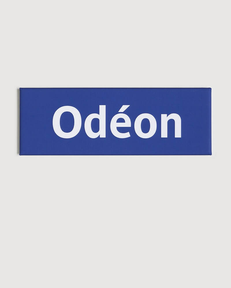 Magnet Odéon RATP origine France