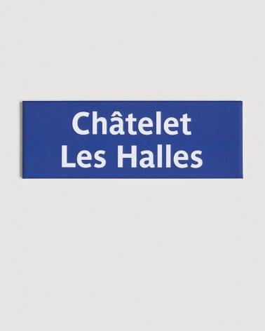 Magnet Châtelet-Les-Halles RATP origine France