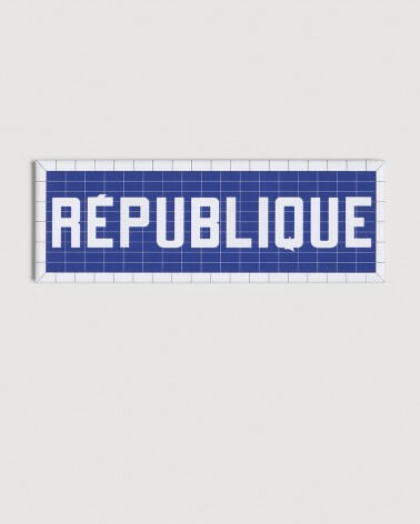 Magnet République RATP origine France