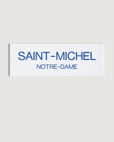 Magnet Saint-Michel RATP origine France