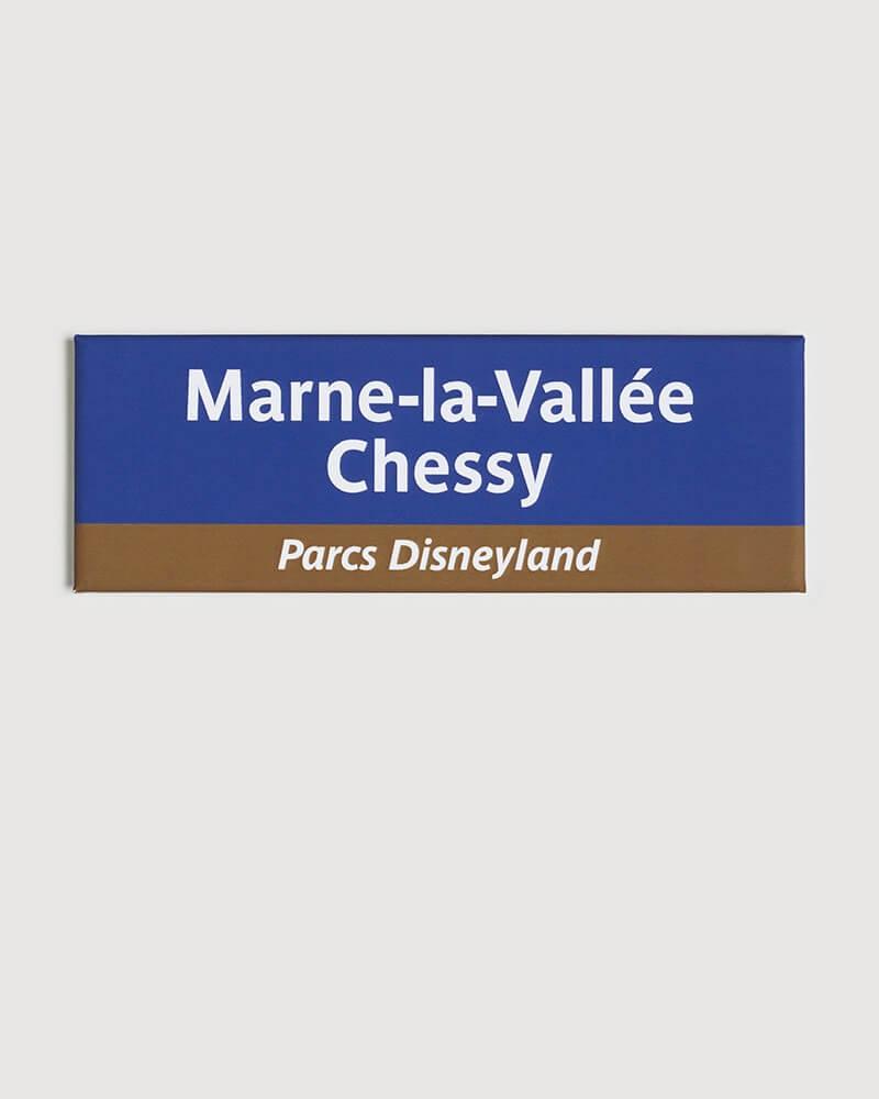 Magnet Marne-la-Vallée-Chessy RATP origine France