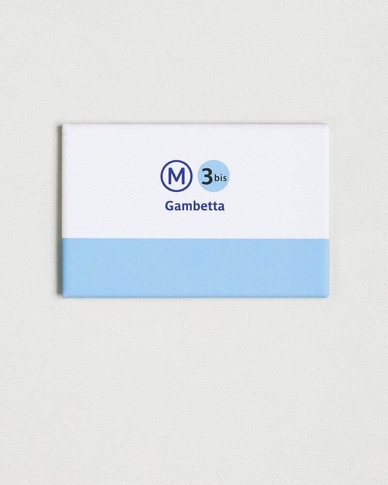 Magnet ligne 3 bis RATP origine France