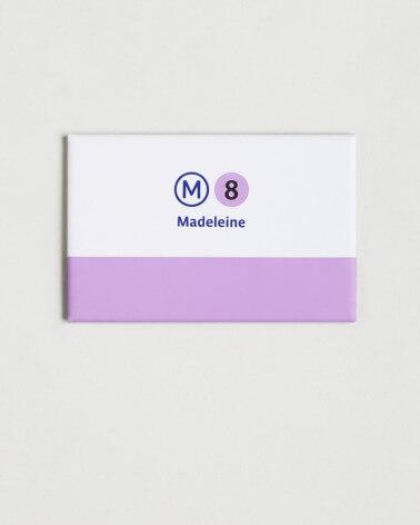 Magnet ligne 8 RATP origine France