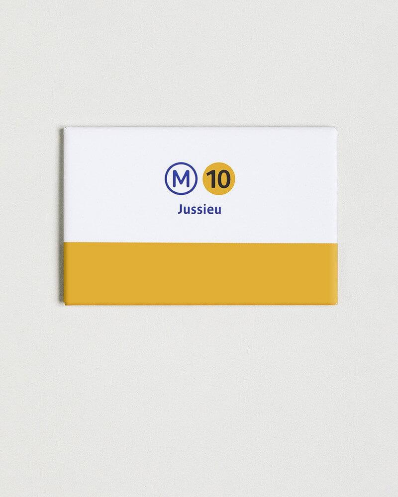 Magnet ligne 10 RATP origine France