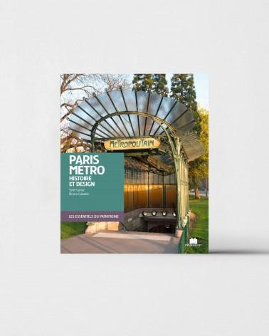 Livre Paris métro - Histoire et design de Sybil Canac et Bruno Cabanis  - RATP la ligne