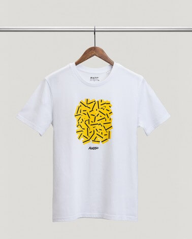 T-shirt ticket de métro RATP coton bio