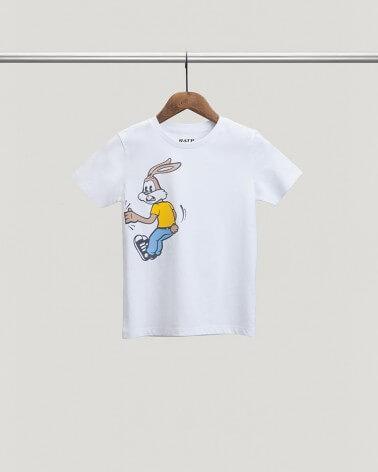 T-shirt Serge le lapin enfant RATP coton bio