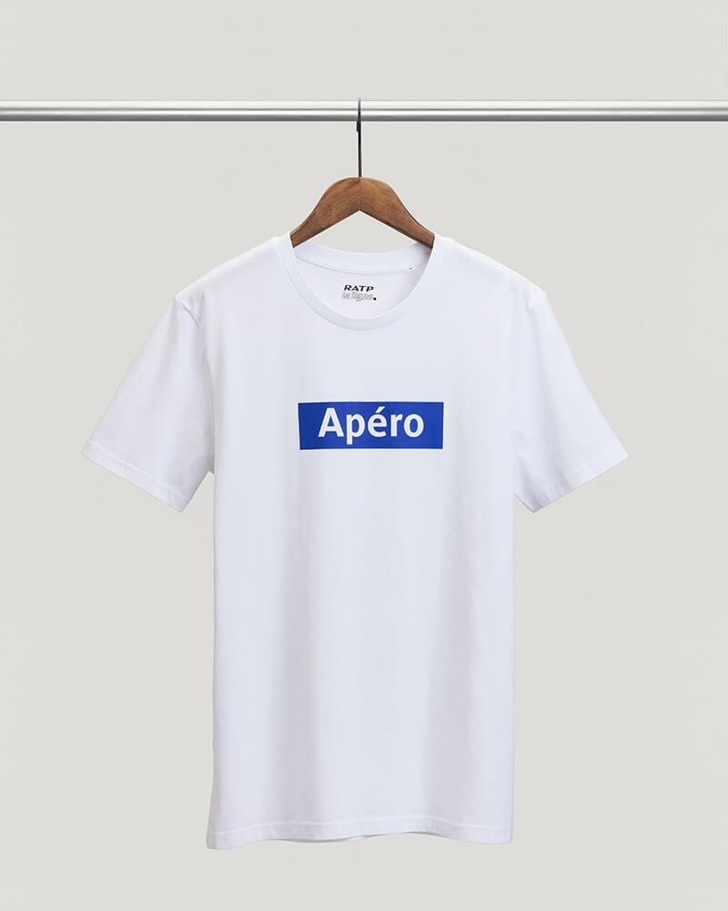 T-shirt station Apéro RATP coton bio