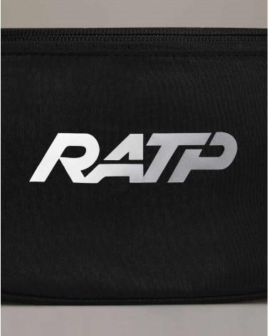Banane noire réfléchissante - zoom logo - RATP la ligne