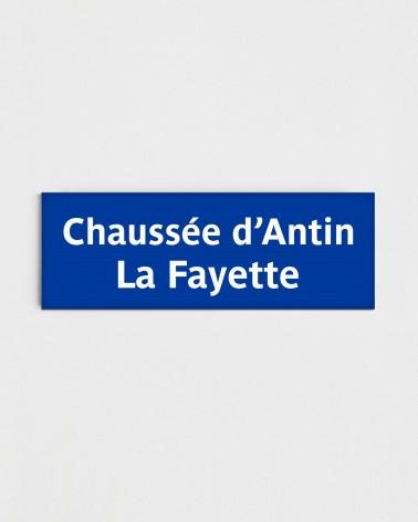 Magnet station Chaussée d'Antin - La Fayette - Face recto