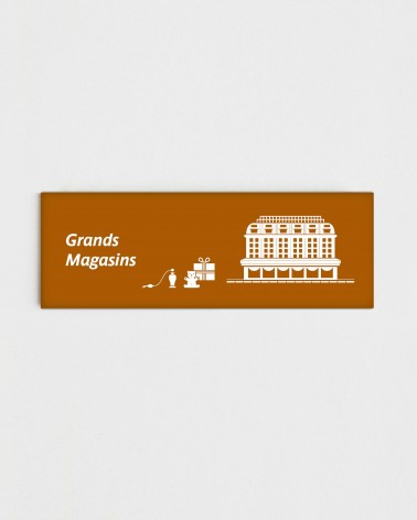 Magnet Grands Magasins - Face recto