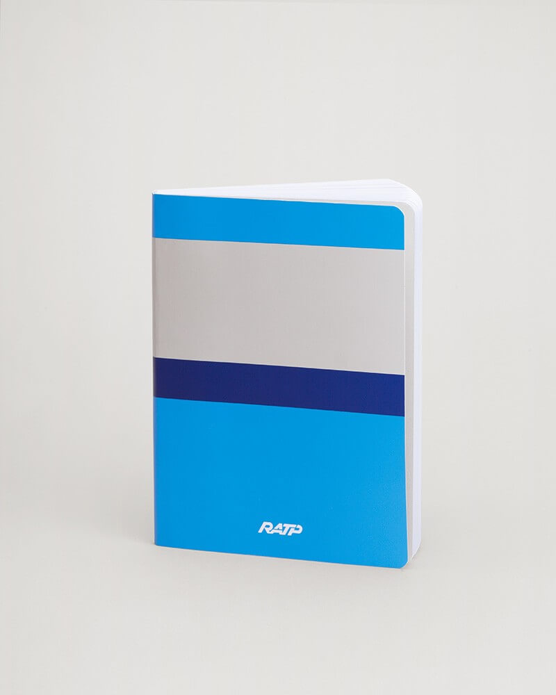 Notebook livrées historiques bleu RATP