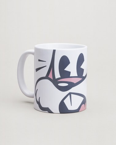 Mug Serge le lapin expression RATP grès finition glossy