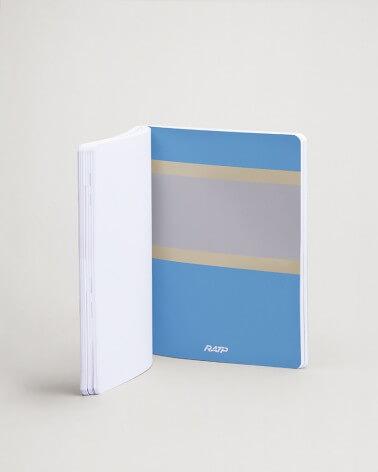 Notebook livrées historiques intercalaire bleu RATP