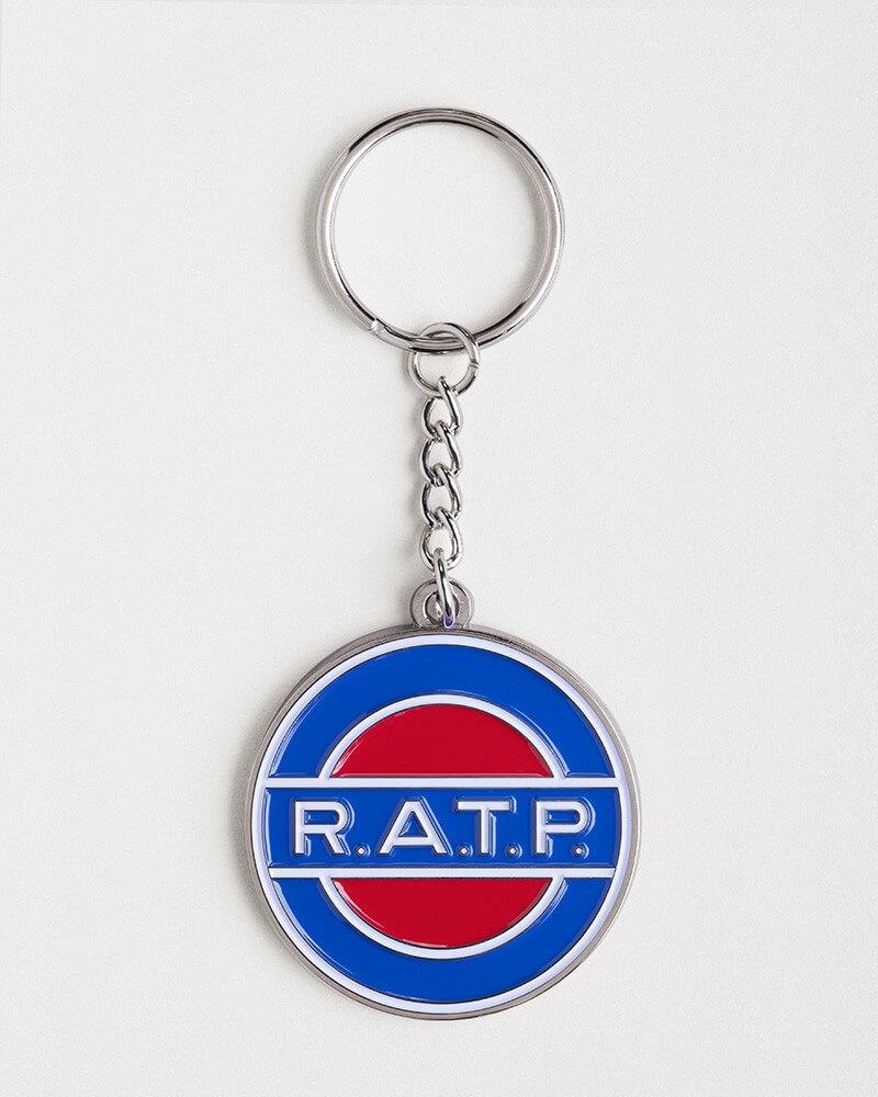 Porte-clé logo RATP 1960 zamak