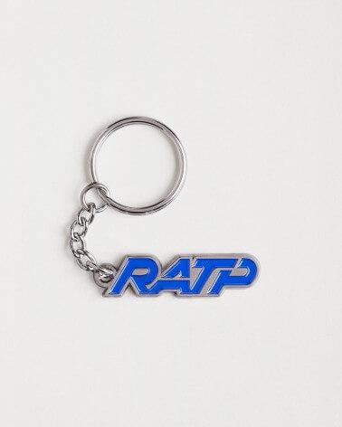 Porte-clé logo RATP 1976 zamak
